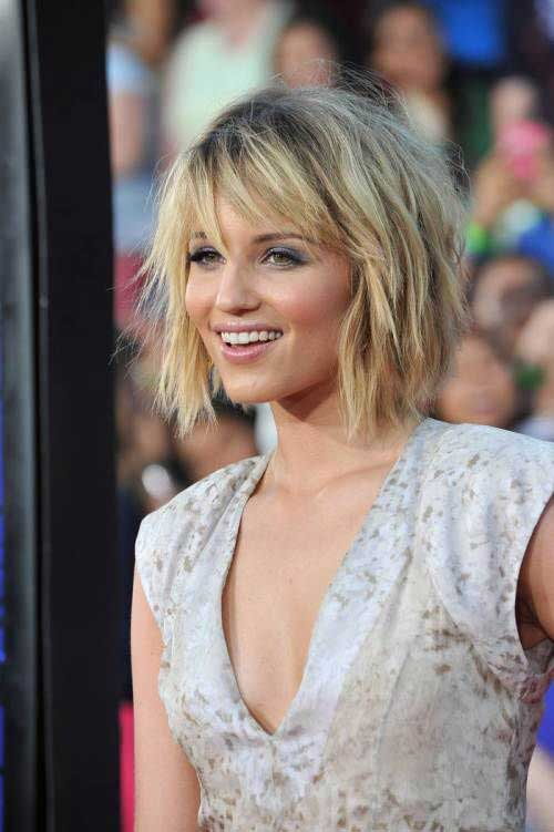 Short Choppy Shaggy Bob Haircut