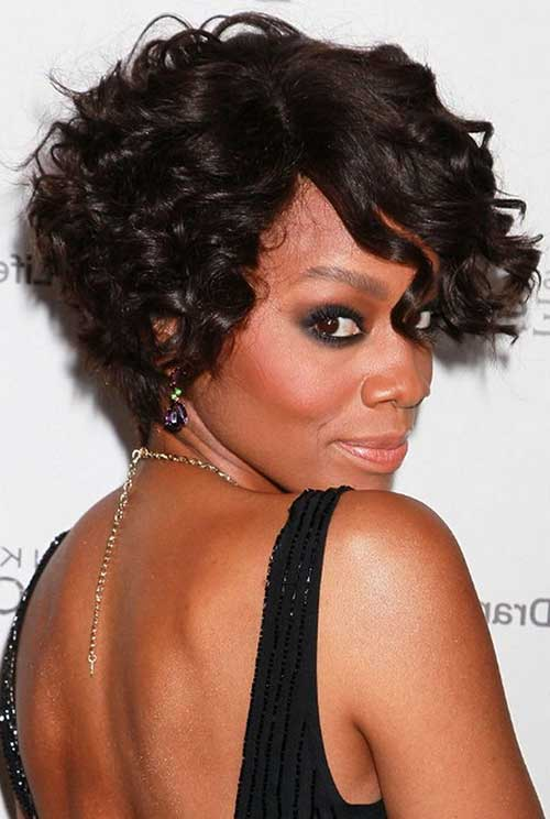 Best Short Curly Bob for Black Women