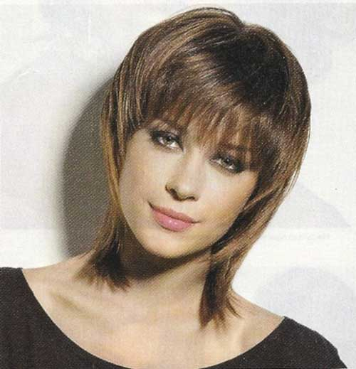 Short Shaggy Haircut Bob