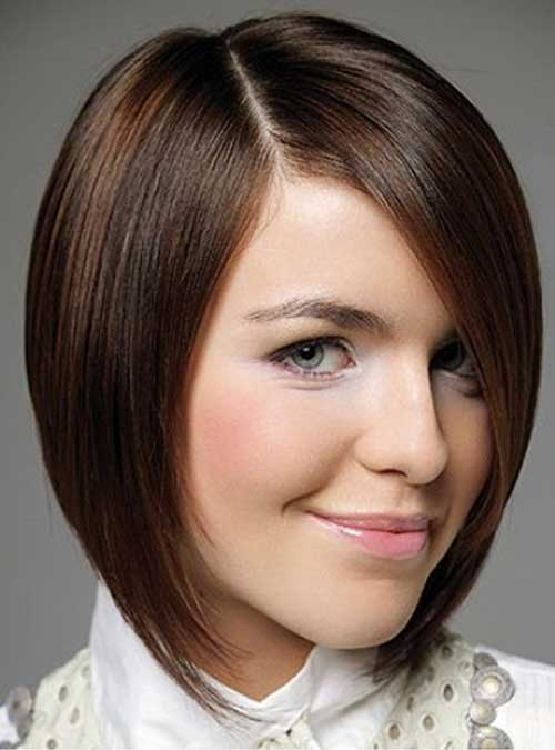 Straight Brown Hair Bob Styles