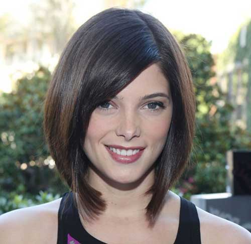 Straight Inverted Bob Hair Cuts