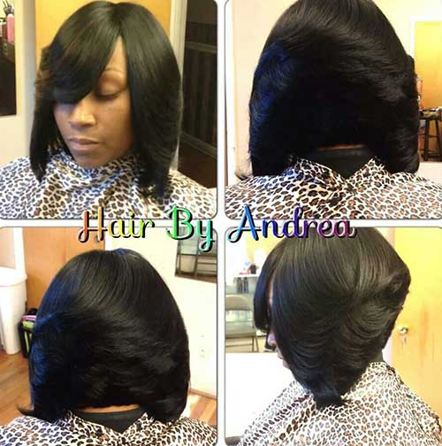 Magnificent 15 Best Short Weave Bob Hairstyles Bob Hairstyles 2015 Short Hairstyles For Women Draintrainus