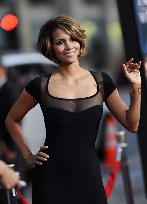 Thick Short Bob Hairstyles for Black Women