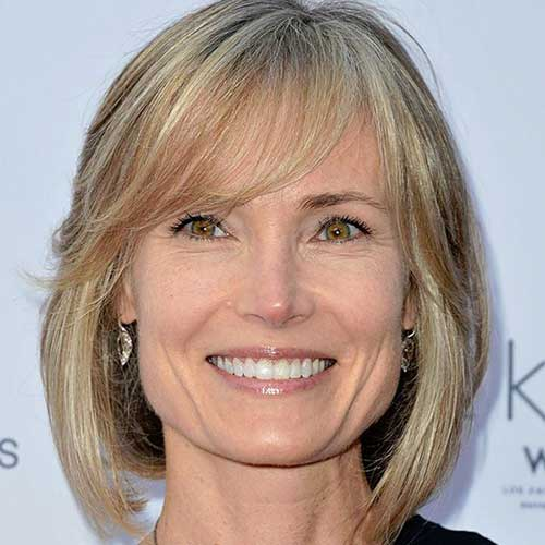 Thin Fine Hair Bob Hairstyles for Older Women