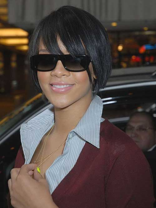Very Short Layered Bob Hairstyles Black Women