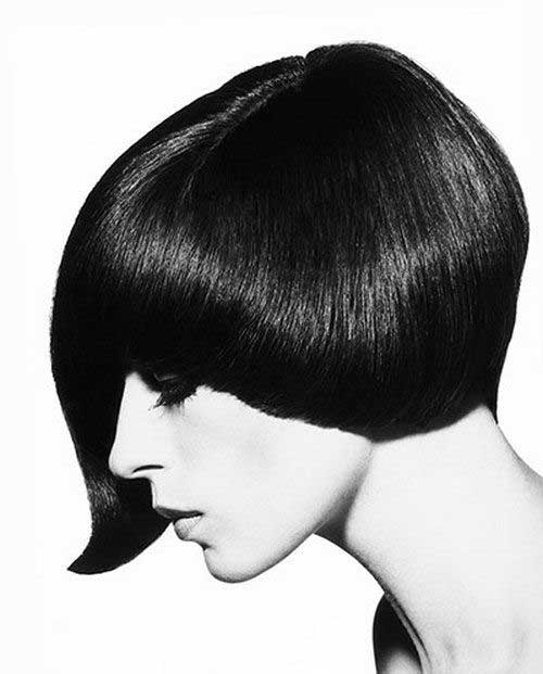 Vidal Sassoon Asymmetric Bob Cuts