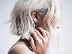 Wavy Blonde Bob Hairstyles