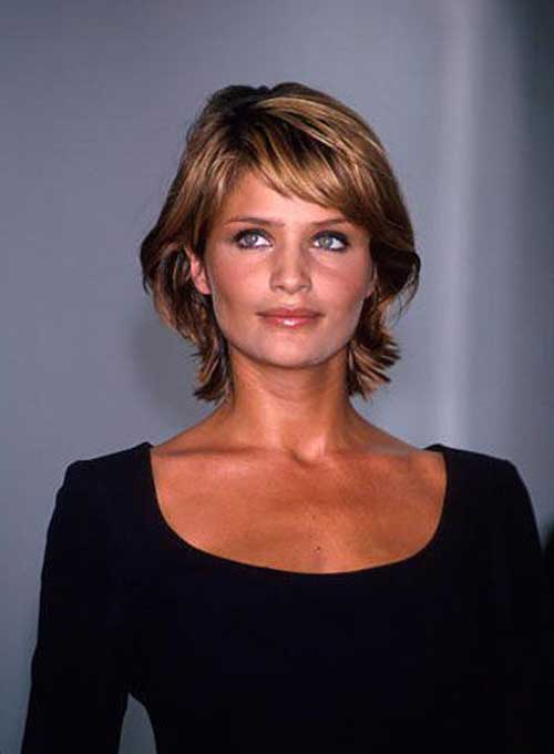 Women Layered Fine Bob Hairstyles