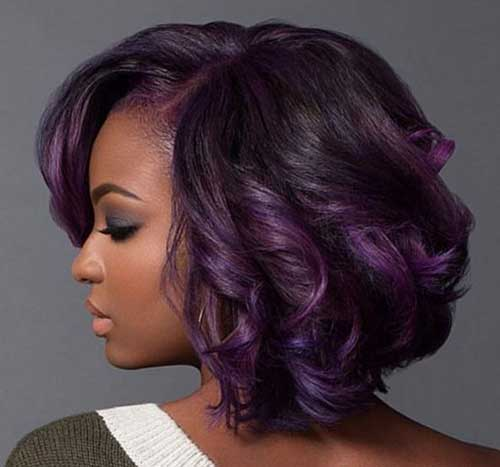 Bob Hairstyles for Black Girls-12