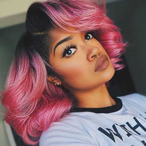 Bob Hairstyles for Black Girls-14