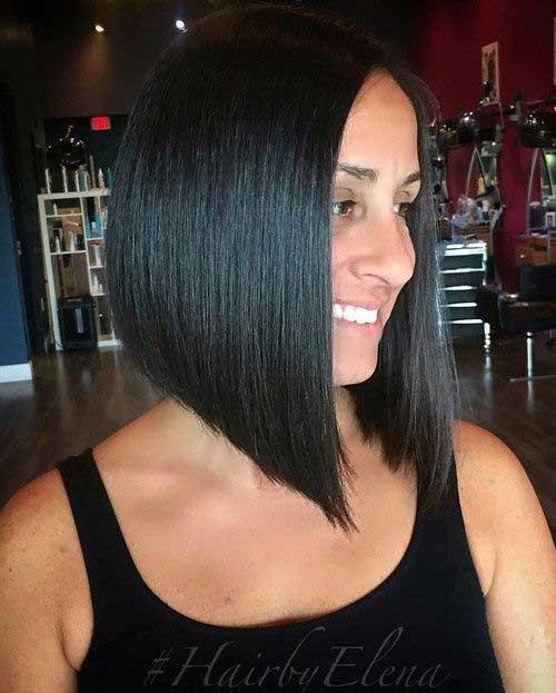 A Line Bob Haircut-7
