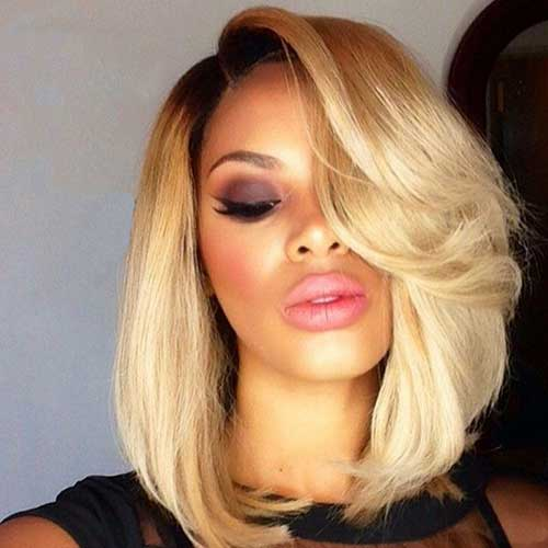 Black Girls Blonde Bob Hair