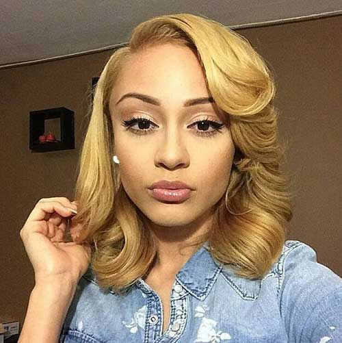 Best Blonde Classy Bobs for Black Girls