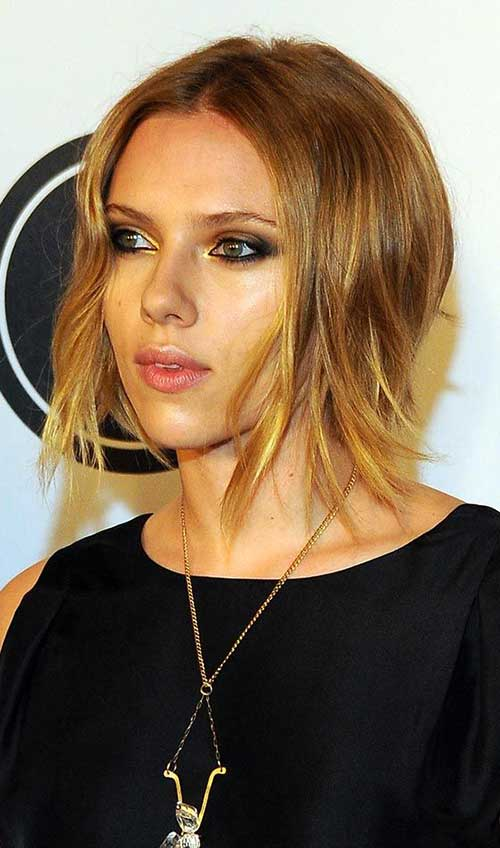 Choppy Layered Bob Hairstyles