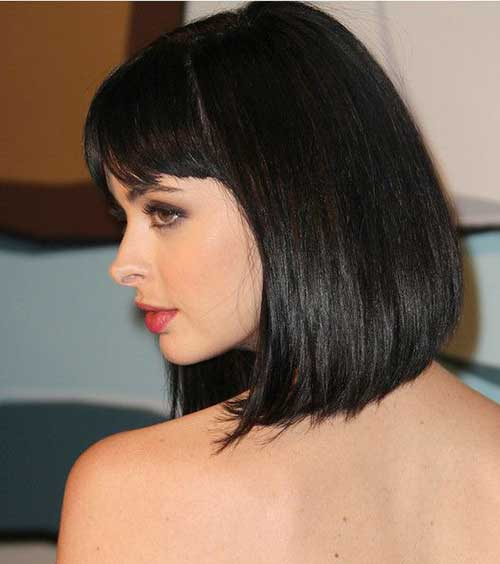 Best Dark Hair Bob Haircuts Pictures