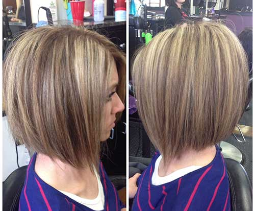 Highlighted Bob Styles For A New Hair Color Bob
