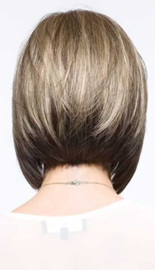 Best Inverted Bob Cut Back View