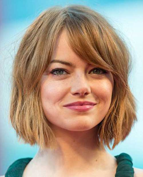 Side Bangs Bob Hairstyles