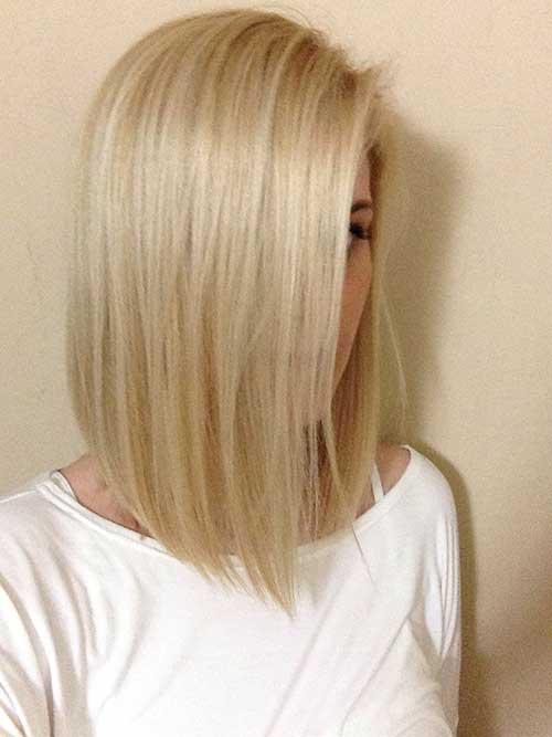 Chic Straight Short Bob Haircuts for Thin Hair