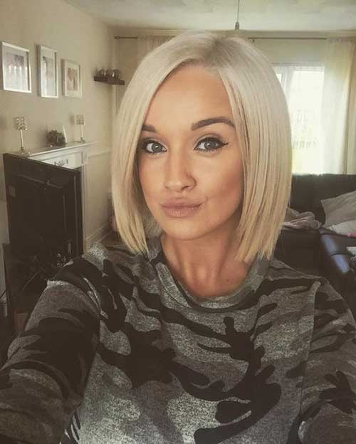 New Trend Blunt Bob Haircut Pictures Bob Hairstyles 2018