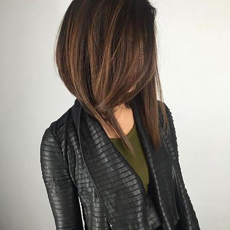 Dark Bob Hair