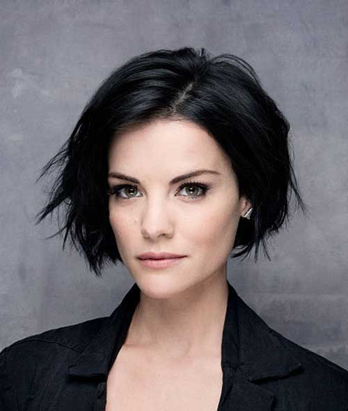 Actresses Dark Bob Haircuts
