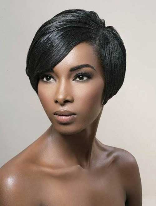 Brilliant 25 Short Bob Hairstyles For Black Women Bob Hairstyles 2015 Hairstyles For Women Draintrainus
