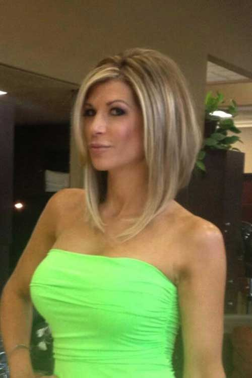 Alexis Bellino Cute Long Bob