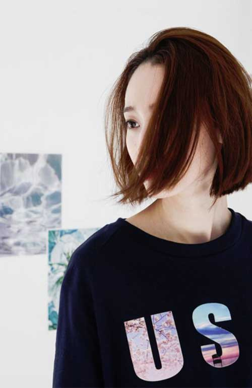 Best Asian Bob Cut for Girls