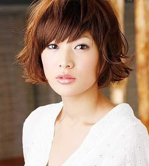 Asian Bob Hair with Bangs