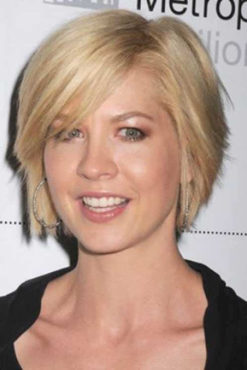 Gy Hairstyle For Round Face Bob Haircuts Fine Hair Pertaining To Short Hairstyles