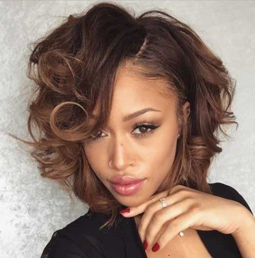 Fine Bob Hairstyles For Black Women Short Curly Ltbgthairstyles For Hairstyle Inspiration Daily Dogsangcom