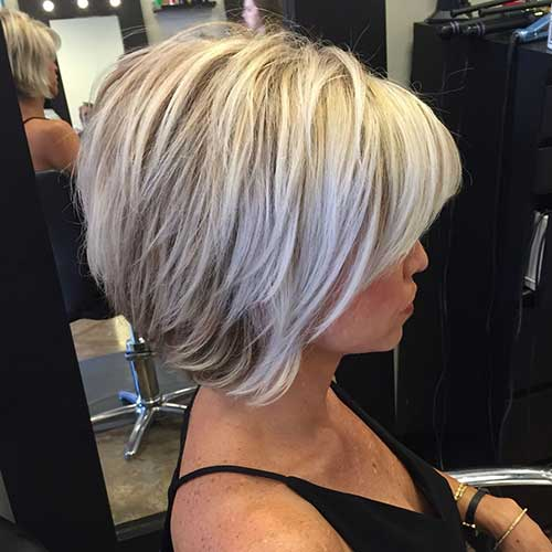 Blonde Highlighted Bob Hairstyles for Women