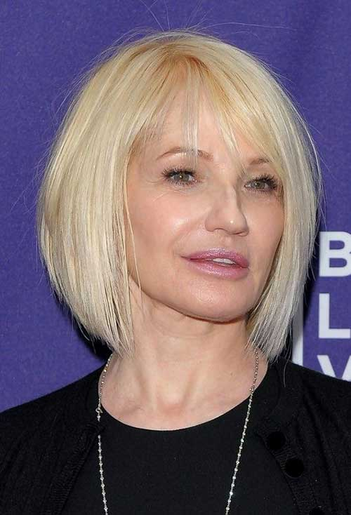 Best Blonde Thin Bob Hairstyles for Women Over 50