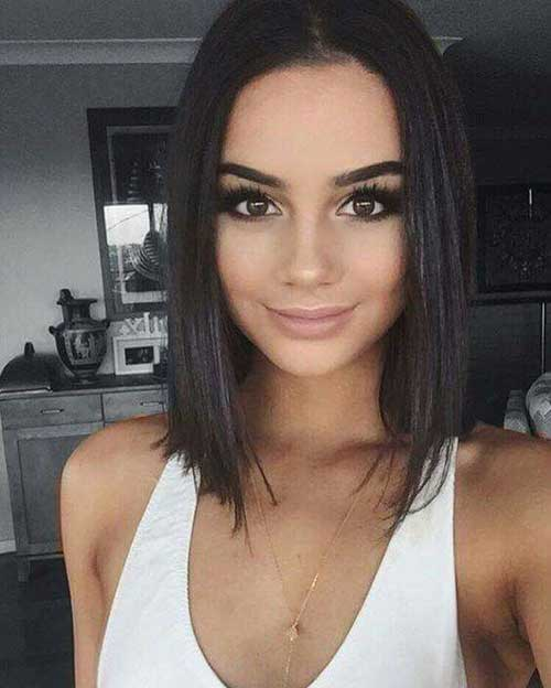 Enjoyable New Trend Blunt Bob Haircut Pictures Bob Hairstyles 2015 Short Short Hairstyles Gunalazisus