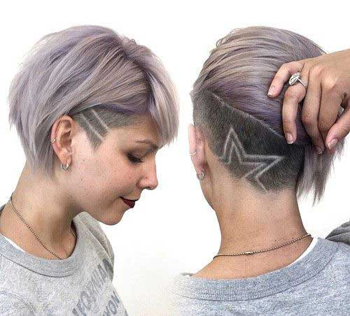 Best Bob Hair with Undercut