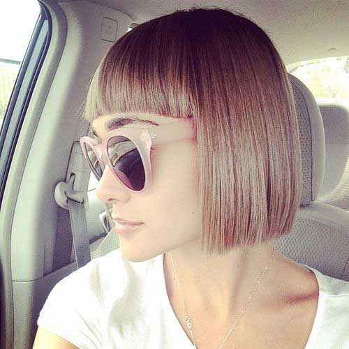 Bob Haircuts for Fine Straight Hair
