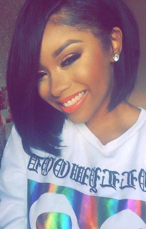 20+ Black Women Bob Hairstyles | Bob Hairstyles 2018 - Short ...