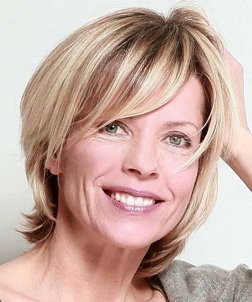 Latest Bobs for Women Over 50