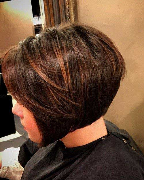 Chocolate Brown Bob Hairstyles