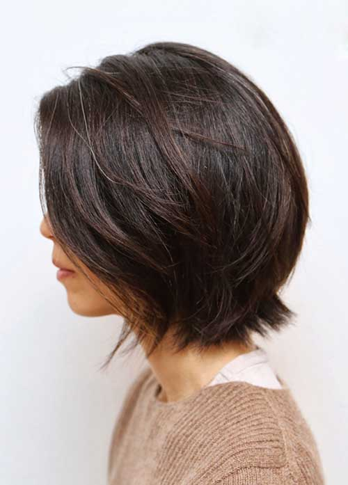 Best Brunette Short Bob Cuts