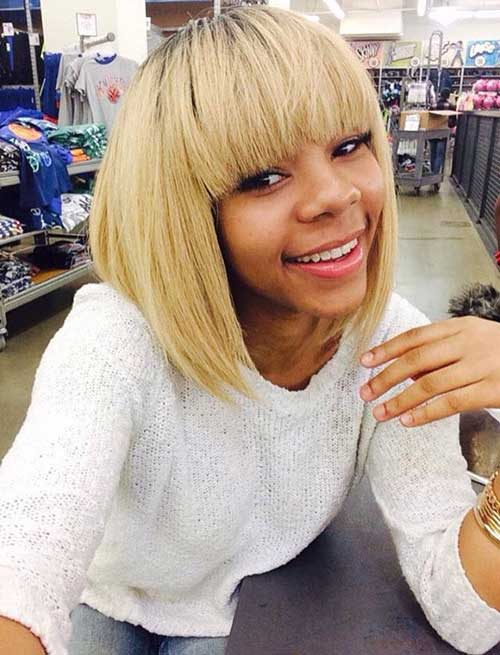 Best Chinese Bang Bob for Black Women