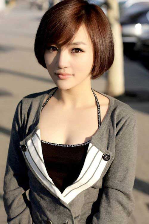 Wondrous 10 Chinese Bob Hairstyle Pictures Bob Hairstyles 2015 Short Hairstyles For Women Draintrainus