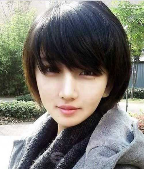 Cool 10 Chinese Bob Hairstyle Pictures Bob Hairstyles 2015 Short Hairstyle Inspiration Daily Dogsangcom
