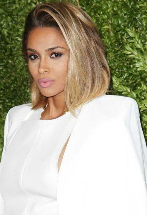 Ciara Shoulder Modern Long Bob Hair