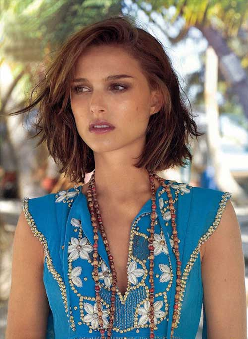 Best Cute Brunette Mid Bob Cuts