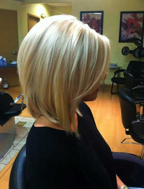 Cute Blonde Hairstyles for Long Bobs