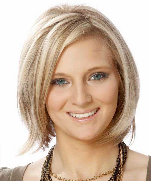Cute Layered Blonde Bob Hairstyles