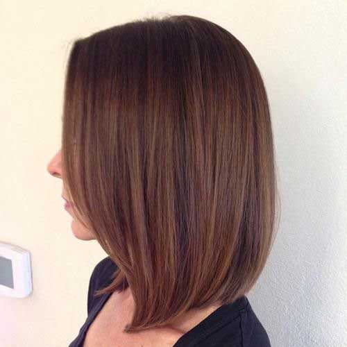 Cute Long Straight Bob Haircuts