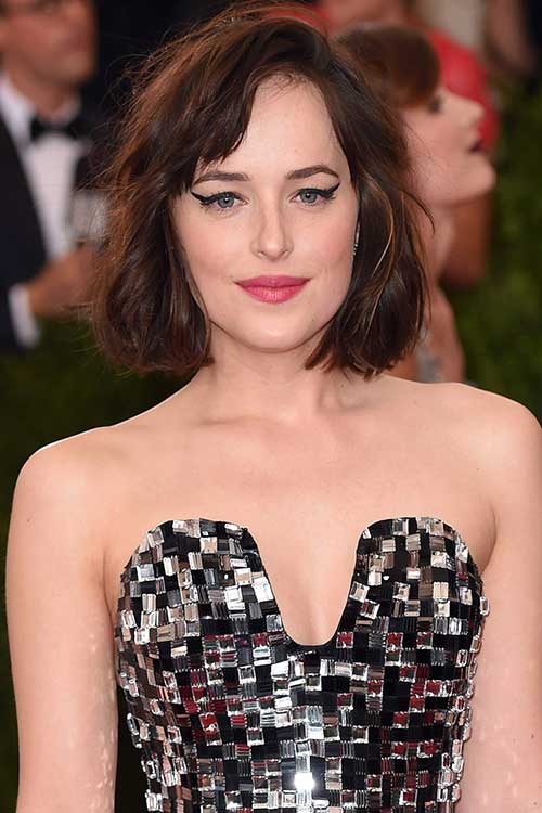 Dakota Johnson Bob Haircut Images